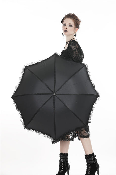 Dark In Love Alma Telescopic Umbrella