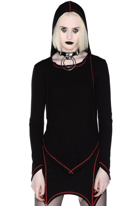 Killstar Avatar Hood Top - Kate's Clothing