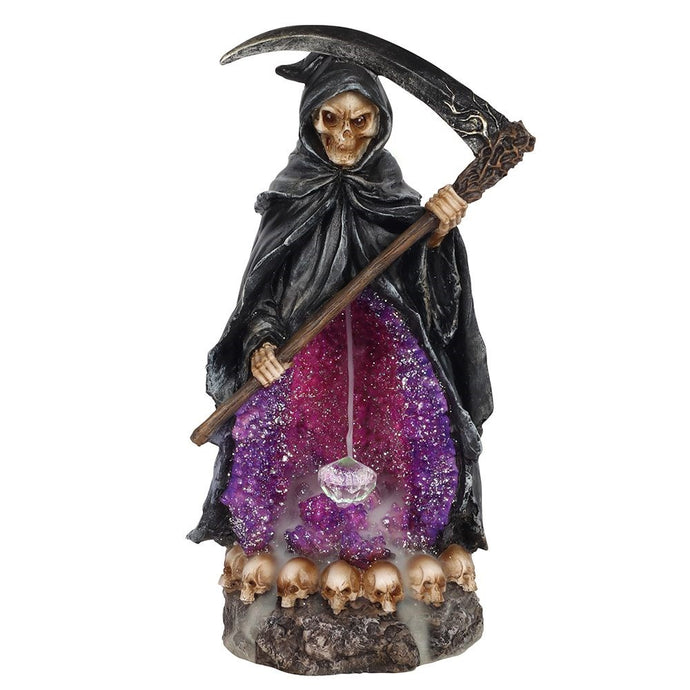 Gothic Gifts Grim Reaper Backflow Incense Burner