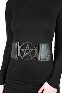 Killstar Summon Me Belt - Black - Kate's Clothing