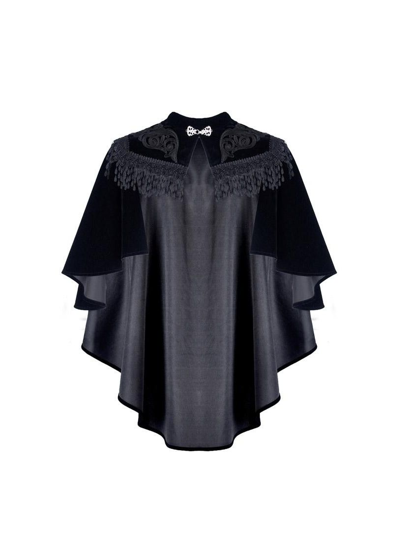 Dark In Love Midnight Cape - Kate's Clothing