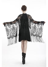 Load image into Gallery viewer, Dark In Love Izora Lace Kimono - Kate's Clothing