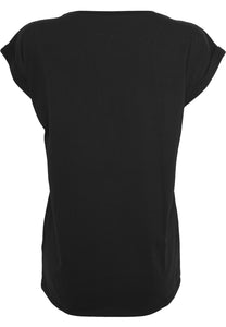 Gothic Attitude Plus Size Extended Shoulder Tee - Kate's Clothing