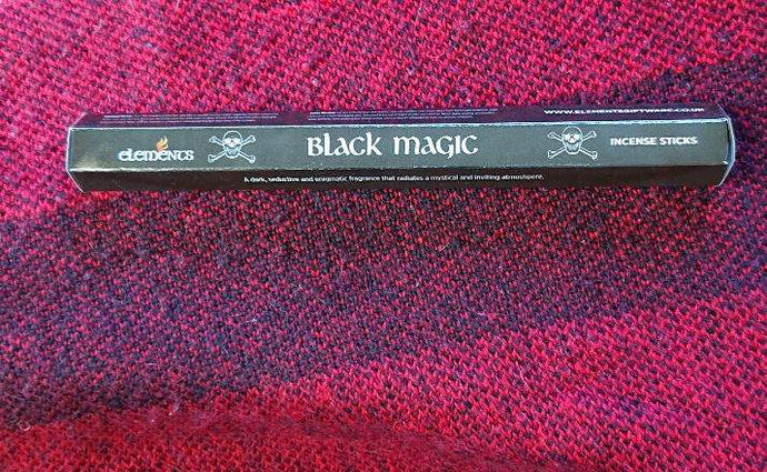 Gothic Gifts Black Magic Incense Pack of 20 Sticks