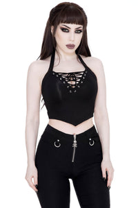 Killstar Axel Vest-Top - Kate's Clothing