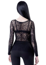 Load image into Gallery viewer, Killstar Capella Lace Top - Kate's Clothing