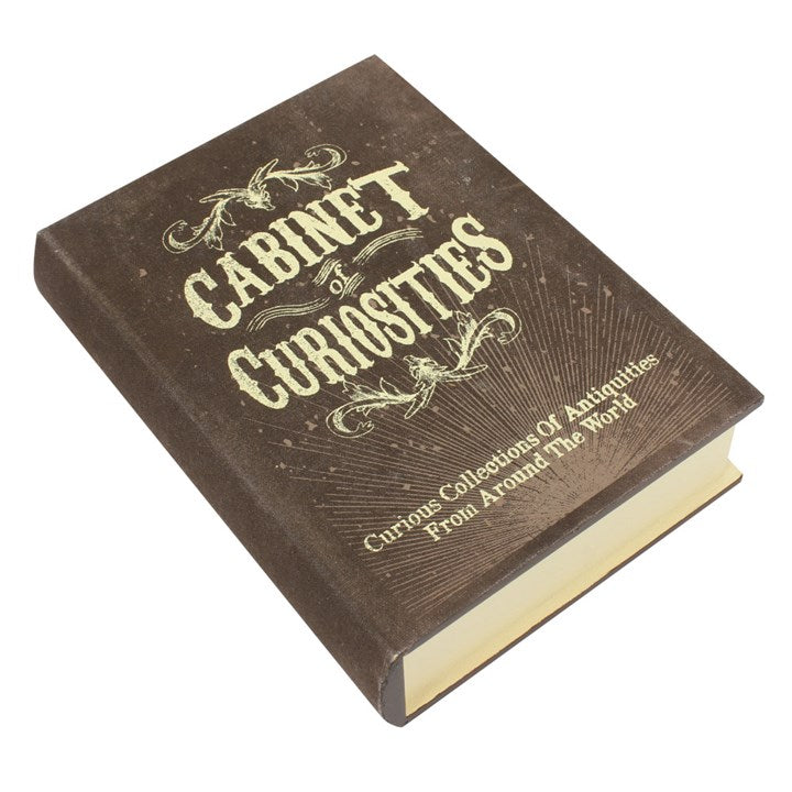Gothic Gifts Curiosities Storage Book Box - Kate's Clothing