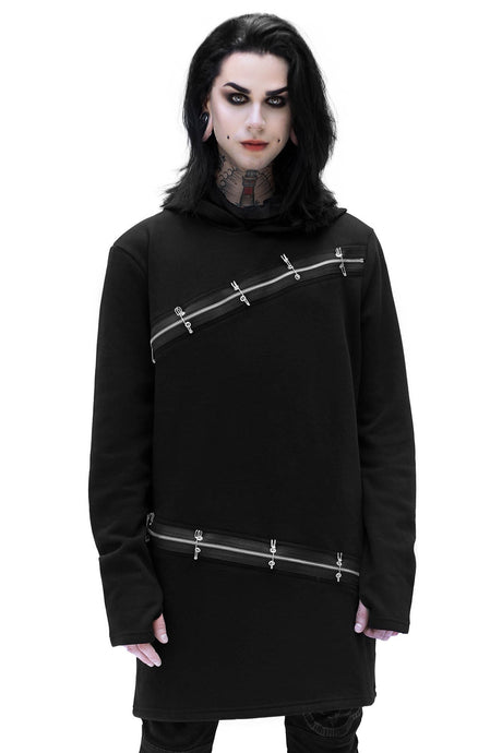 Killstar Mens Cedar Hooded Top - Kate's Clothing