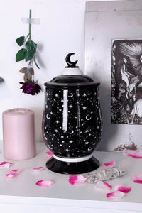 Killstar B-GRADE Constellation Ceramic Jar - Kate's Clothing