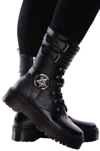 Killstar Corrosion Boots Mens / Unisex - Kate's Clothing