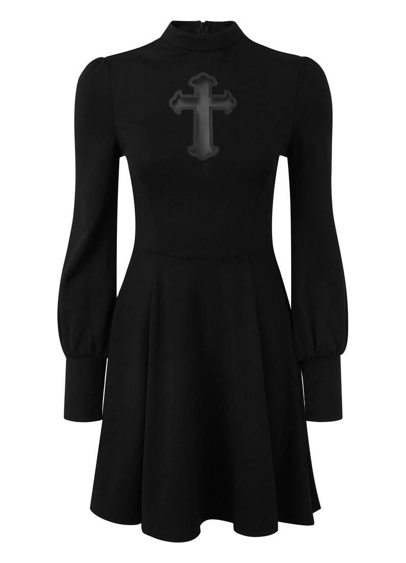 Killstar Crossed Out Dress - Kate's Clothing