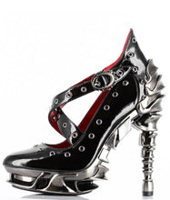 Load image into Gallery viewer, Hades Crow Platform Heels - Kate's Clothing