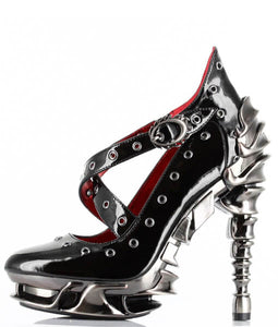 Hades Crow Platform Heels - Kate's Clothing