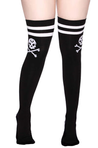 Killstar Crusher Long Socks - Kate's Clothing
