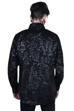 Load image into Gallery viewer, Killstar Cthulhu Dark Ocean Button-Up Mens Shirt - Kate's Clothing