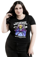 Load image into Gallery viewer, Killstar Plus Size Dark + Bitter Ringer Top - Kate's Clothing