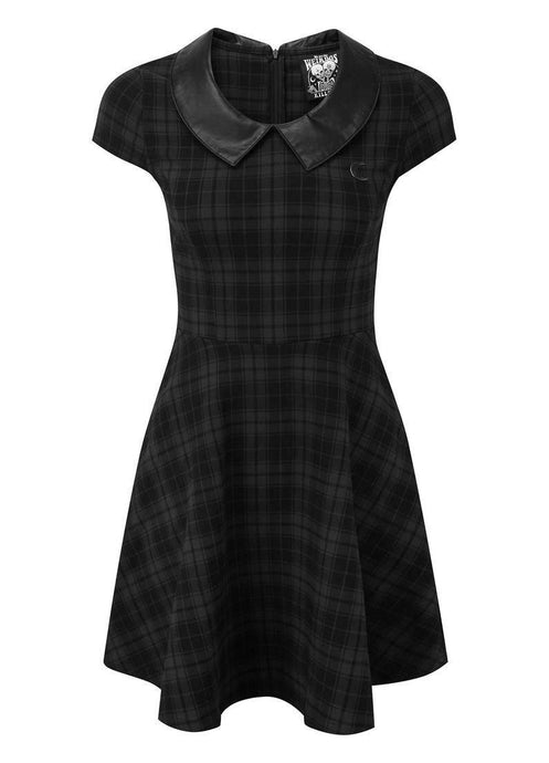 Killstar Tartan Darklands Doll Dress