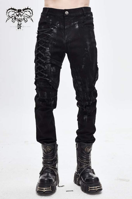 Devil Fashion Mens Alaric Jeans - Kate's Clothing