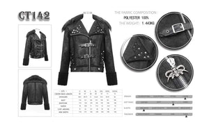 Devil Fashion Mens Cassius Jacket - Kate's Clothing