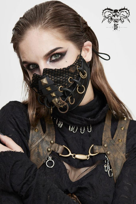 Devil Fashion Dieselpunk Face Covering - Kate's Clothing