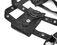 Load image into Gallery viewer, Devil Fashion Mens Harness Belt With Pockets - Kate's Clothing