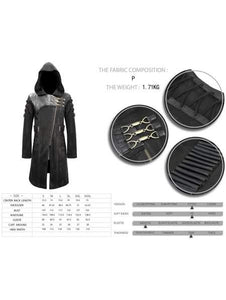Devil Fashion Mens Lazarus Coat - Kate's Clothing