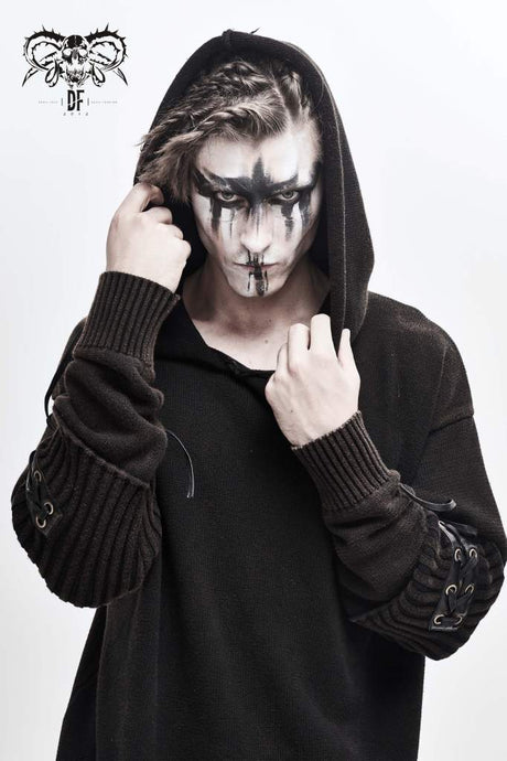 Devil Fashion Mens Silas Hooded Jumper - Kate's Clothing