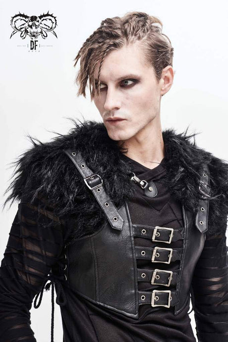 Devil Fashion Mens Orpheus Waistcoat - Kate's Clothing