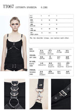 Load image into Gallery viewer, Devil Fashion Two Style Vest Top - Kate's Clothing