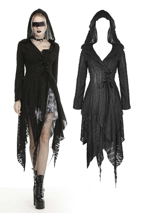 Dark in Love Gothalyptic Fleur Cardigan - Kate's Clothing