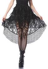 Load image into Gallery viewer, Dark In Love Net Cocktail Skirt - Kate's Clothing