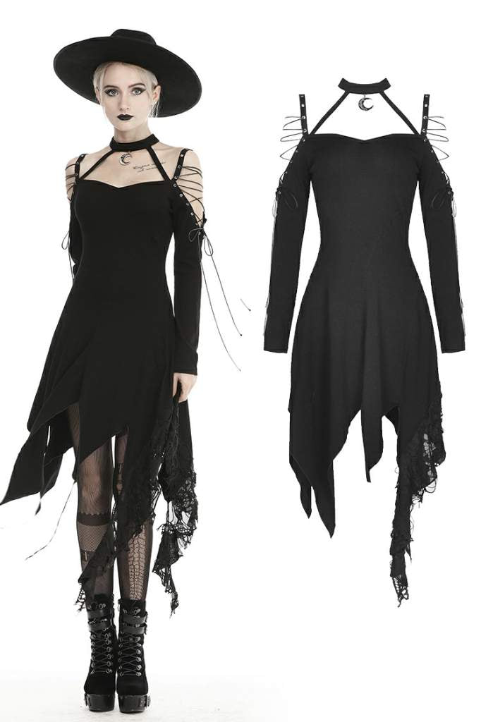 Dark In Love Raina Dress - Kate's Clothing