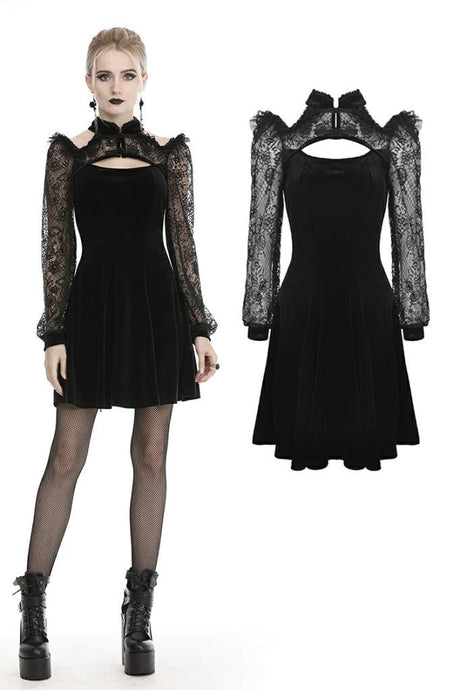 Dark In Love Zenovia Dress - Kate's Clothing