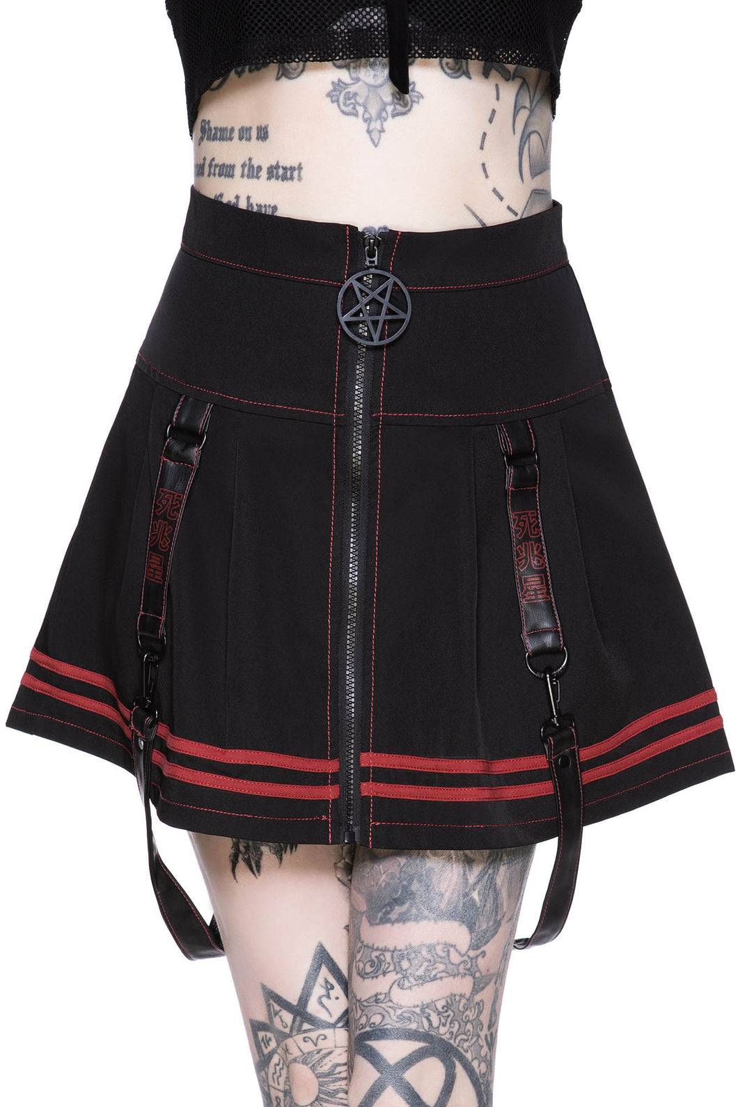 Killstar Discord Mini Skirt - Kate's Clothing