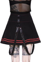 Load image into Gallery viewer, Killstar Discord Mini Skirt - Kate's Clothing