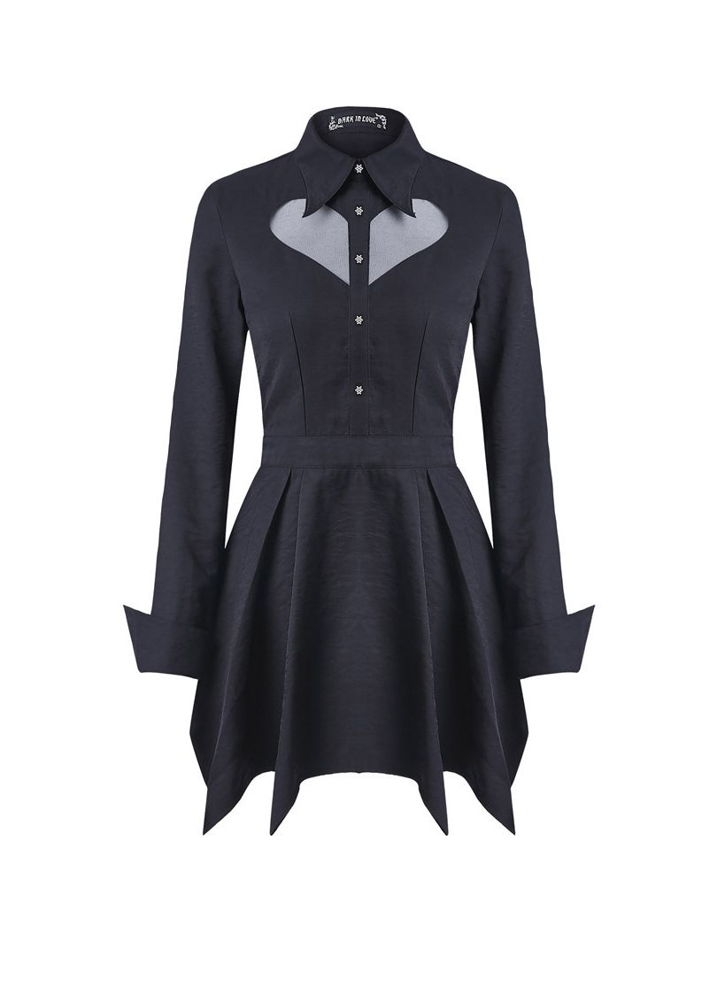 Dark In Love Sabrina Dress - Kate's Clothing