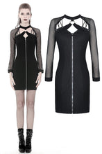 Load image into Gallery viewer, Dark In Love Lucinda Zip Front Dress
