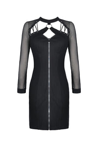 Dark In Love Lucinda Zip Front Dress