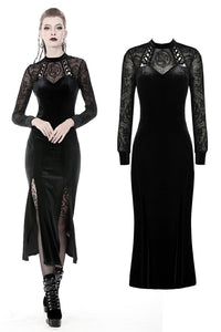 Dark In Love Lilja Velvet Dress