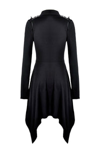 Dark In Love Akila Asymmetric Dress - Kate's Clothing