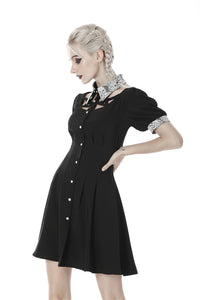 Dark In Love Priscilla Dress - Kate's Clothing