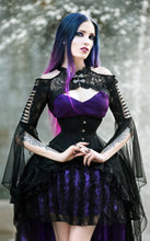 Load image into Gallery viewer, Dark In Love Aurora Lace Bolero - Kate's Clothing