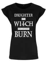 Load image into Gallery viewer, Daughter Of A Witch You Couldn't Burn T-Shirt - Kate's Clothing
