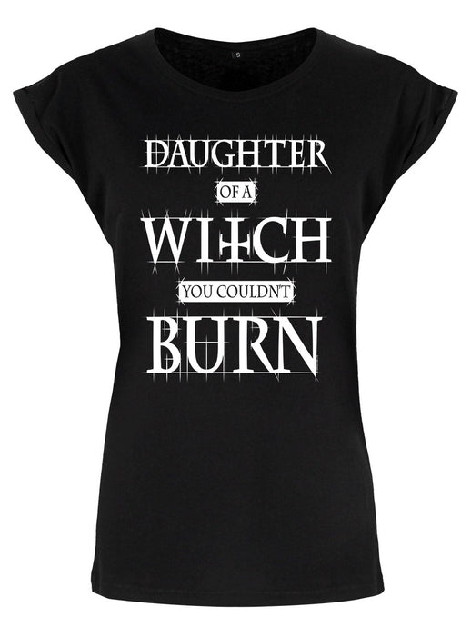 Daughter Of A Witch You Couldn't Burn T-Shirt - Kate's Clothing