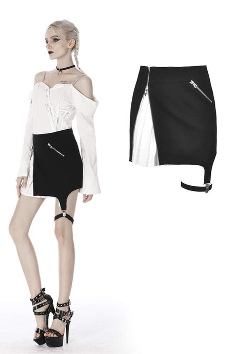Dark In Love Alexandrine Skirt
