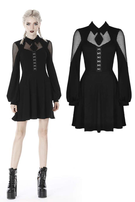 Dark In Love Carla Dress - Kate's Clothing