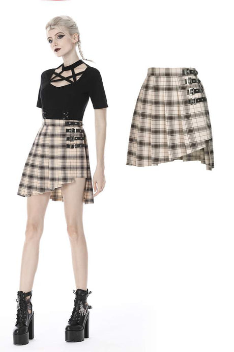 Dark In Love Irena Mini Skirt - Kate's Clothing