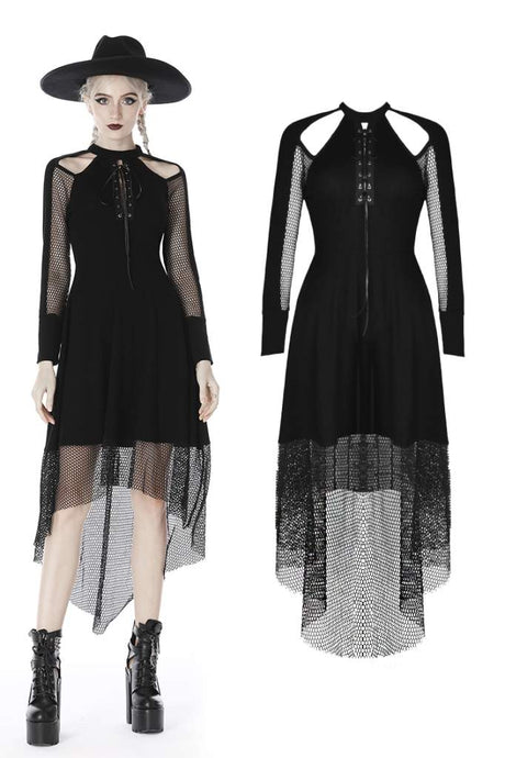 Dark in Love Mae Net Dress - Kate's Clothing