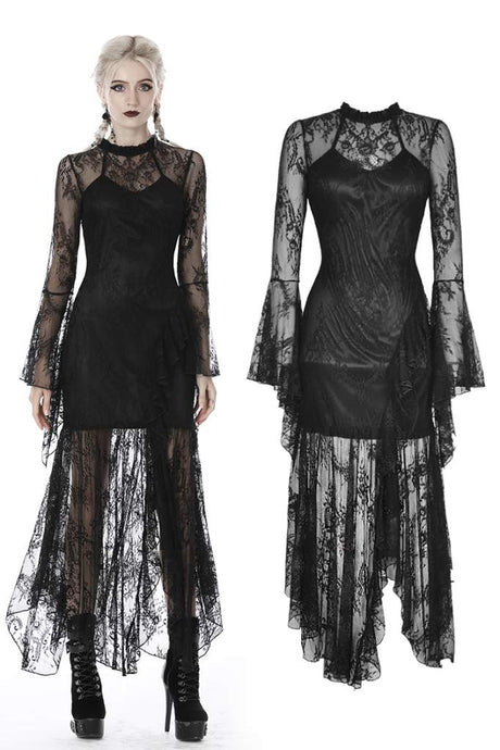 Dark In Love Pilar Lace Dress - Kate's Clothing