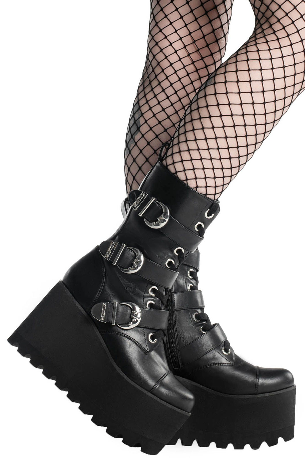 Killstar Oracle Wedge Boots - Kate's Clothing